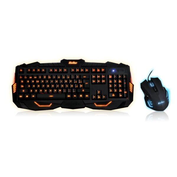 Teclado y Mouse Gamer USB Kolke KTMIG-531 Gaming Pro